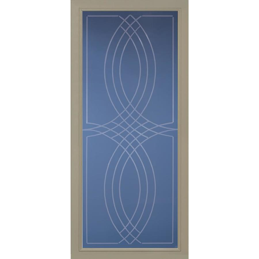 Pella Pella Select Putty Full-view Aluminum Storm Door (Common: 36 x 81 (Actual: 35.75 x 79.875)