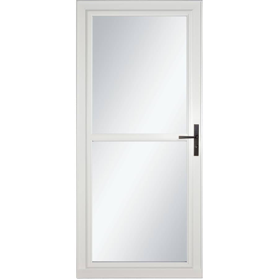 LARSON Tradewinds Selection White Full-View Aluminum Storm