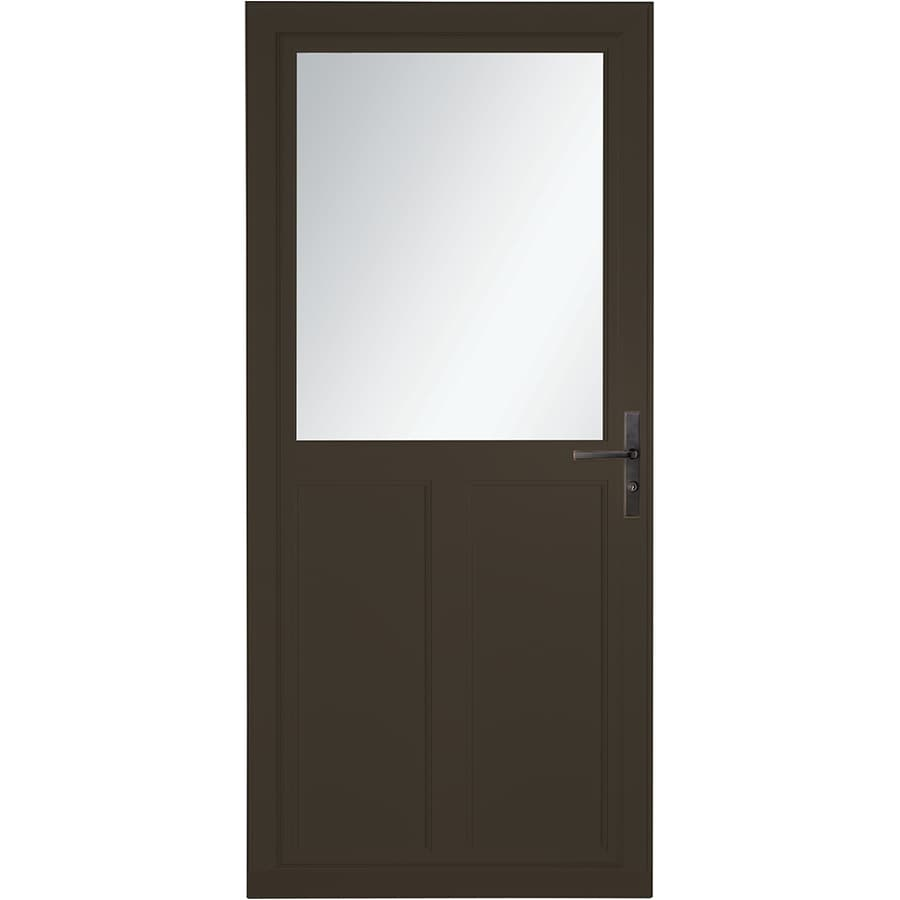 Larson Tradewinds Selection Brown High View Aluminum Storm