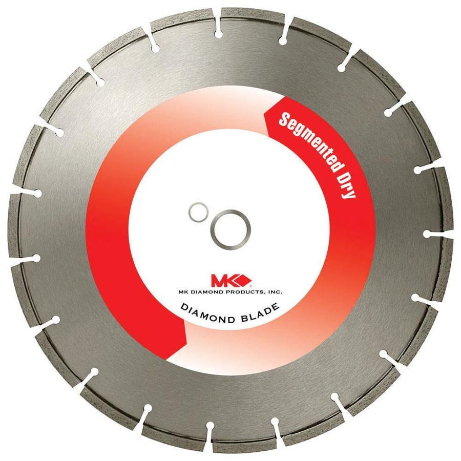 MK Diamond Products 14-in 19-Tooth Segmented Diamond Circular Saw Blade