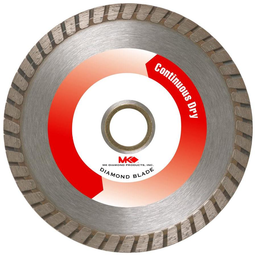 MK Diamond Products 4-in Turbo Diamond Circular Saw Blade
