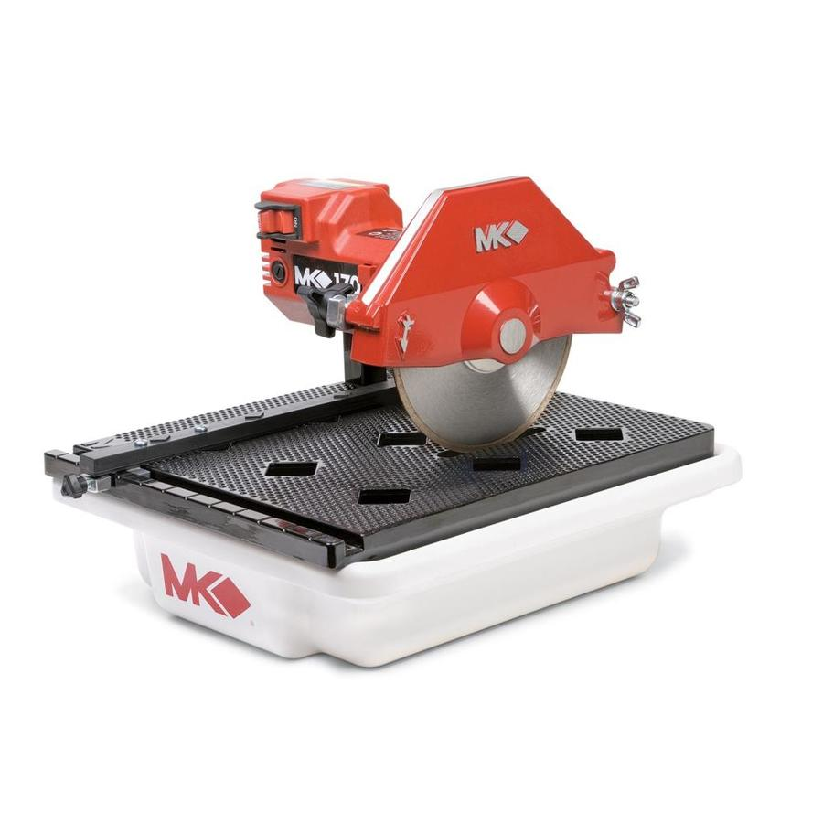 Shop tile saws at lowes mk diamond products 7 in 05 wet tabletop tile saw dailygadgetfo Gallery