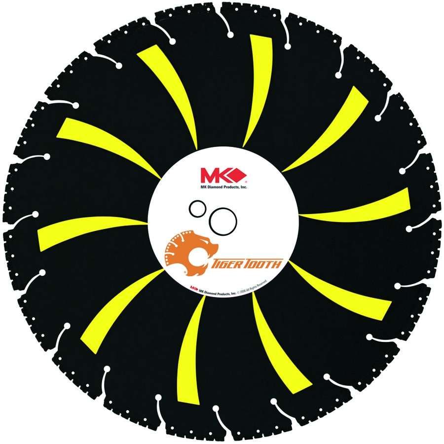 MK Diamond Products 12-in 18-Tooth Segmented Diamond Circular Saw Blade