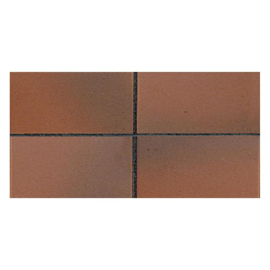 Shop American Olean 50 Pack Quarry Tile Ember Flash Ceramic Floor