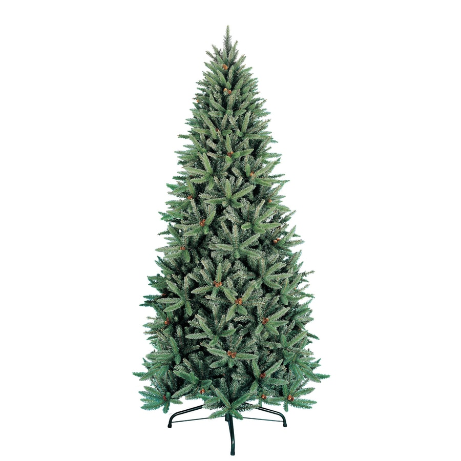 Shop Holiday Living 9 Ft Fir Unlit Artificial Christmas Tree At  - Artificial Christmas Tree 9 Ft