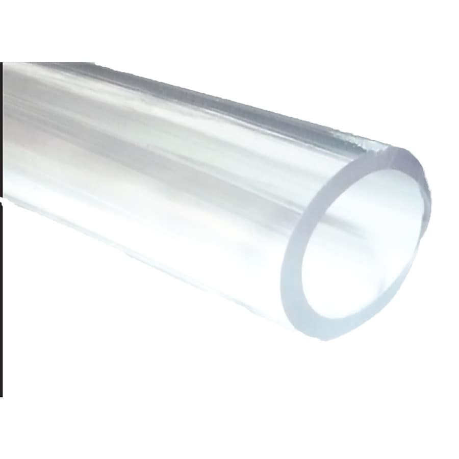 Samar 1-5/8-in x 1-ft PVC Clear Vinyl Tubing
