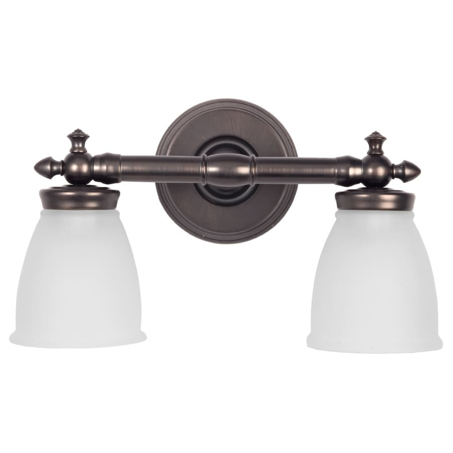 DELTA 2-Light 9.5-in Vanity Light