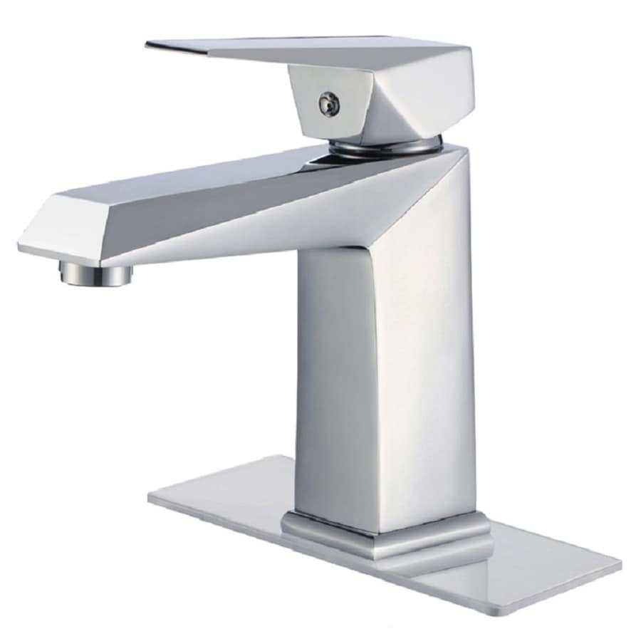 Moorefield Astor Chrome 1 Handle Single Hole Bathroom Faucet