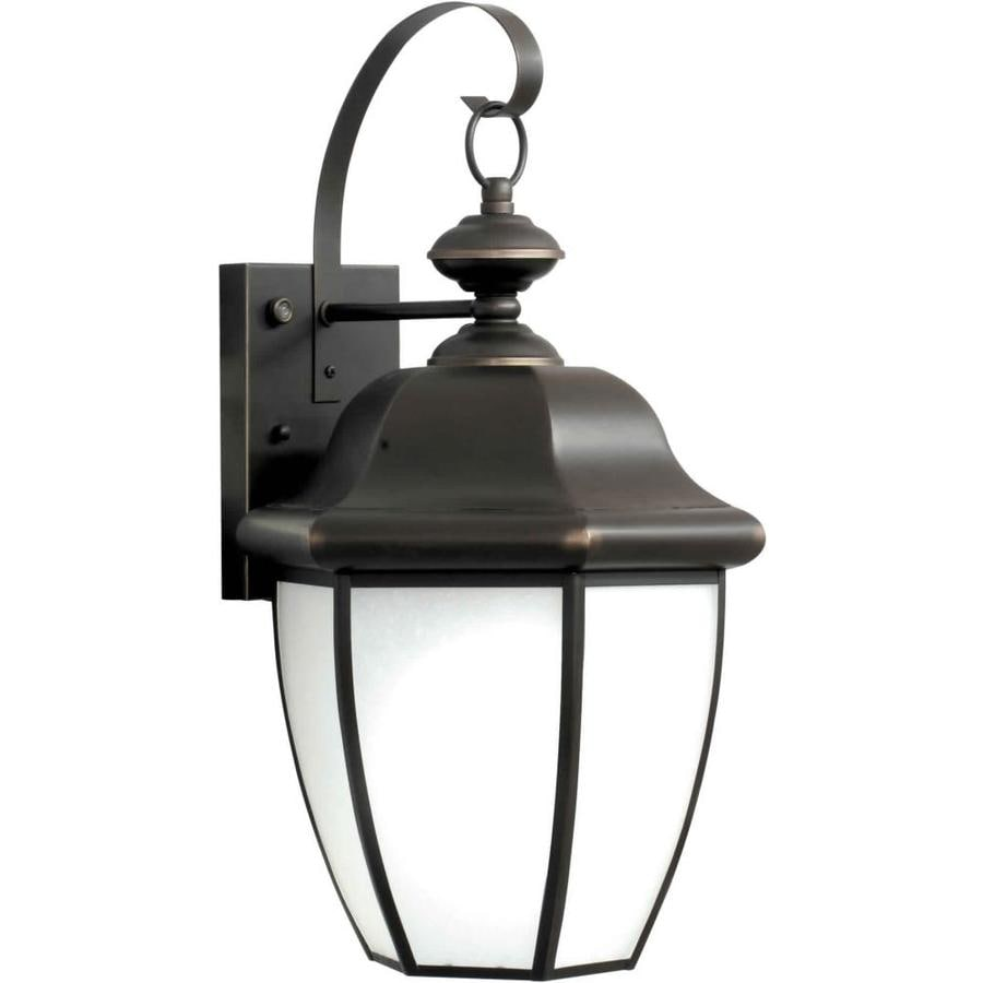 19-in H Royal Bronze Outdoor Wall Light