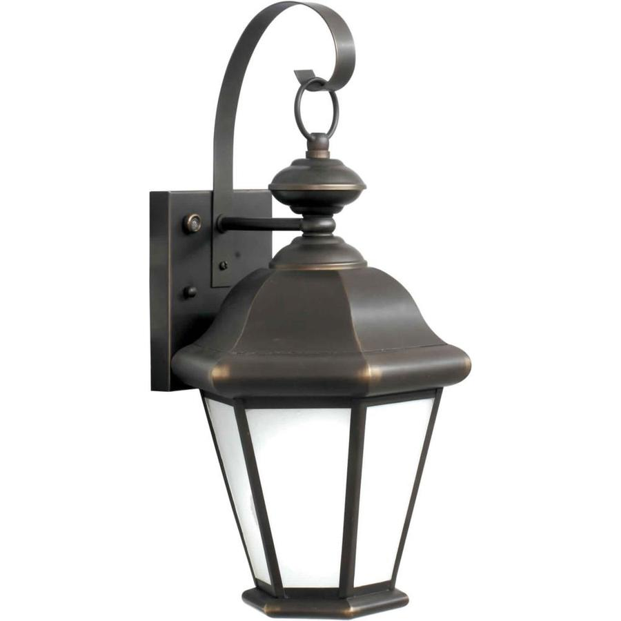 17-in H Royal Bronze Outdoor Wall Light