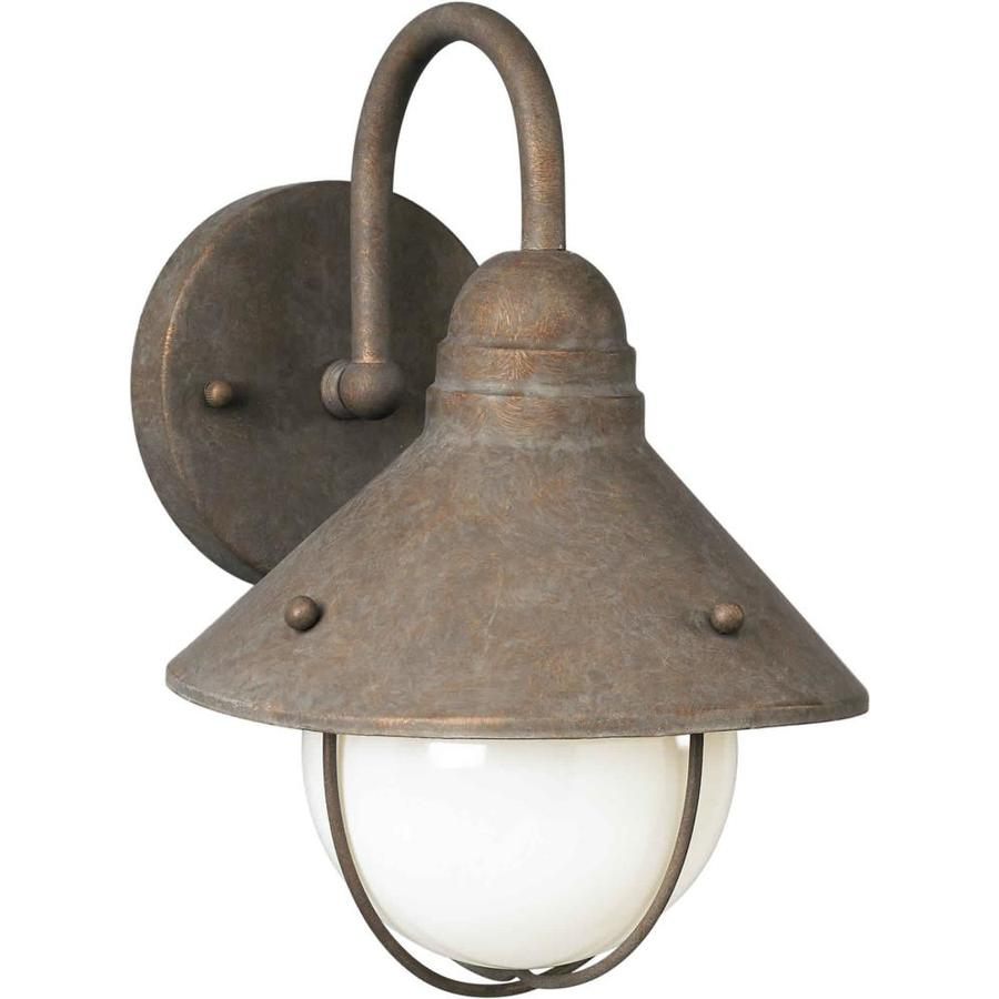 12-in H Desert Stone Outdoor Wall Light