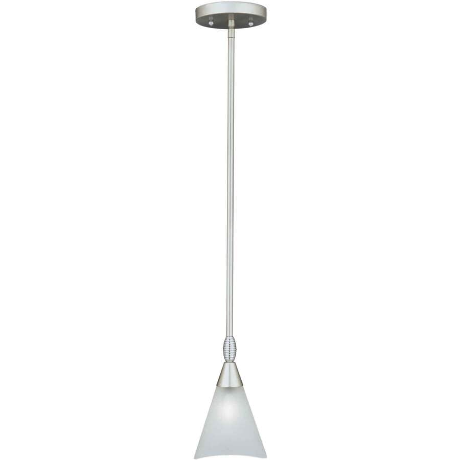 Shandy 5-in Brushed Nickel Mini N/A Pendant