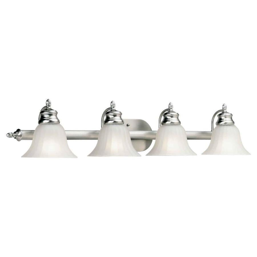 Shandy 4-Light 8-in Brushed Nickel Vanity Light