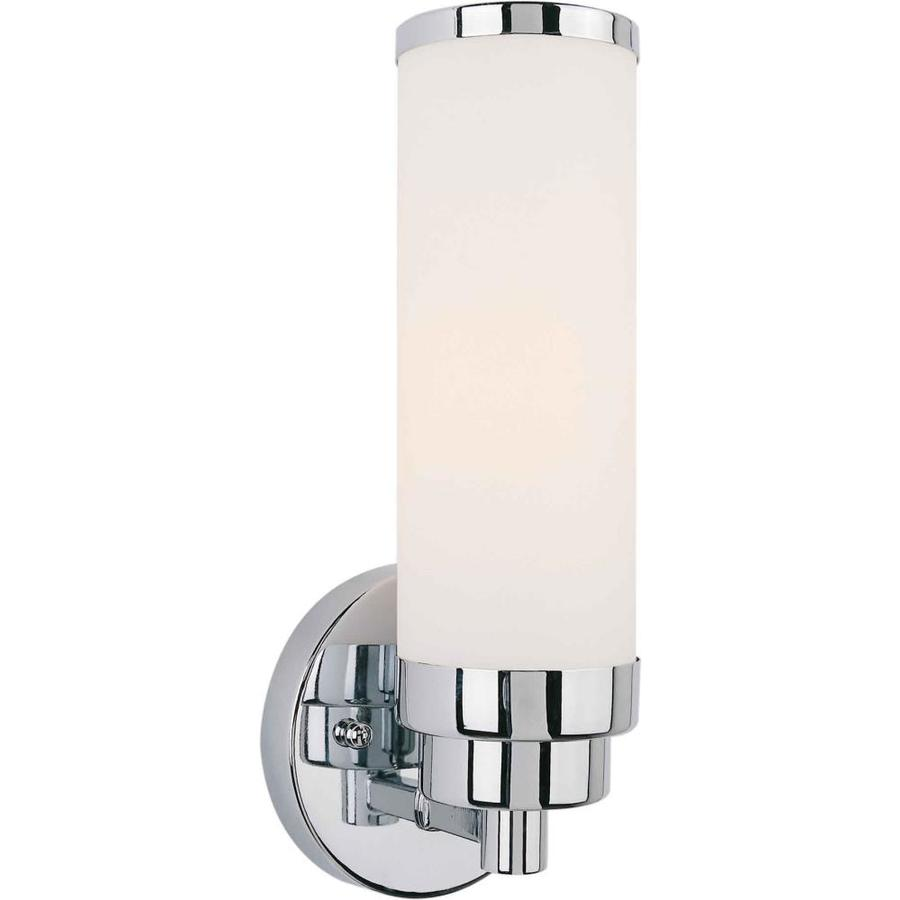 Wall Sconce Chrome Finish : Shop 4.5-in W 1-Light Chrome Arm Wall Sconce at Lowes.com
