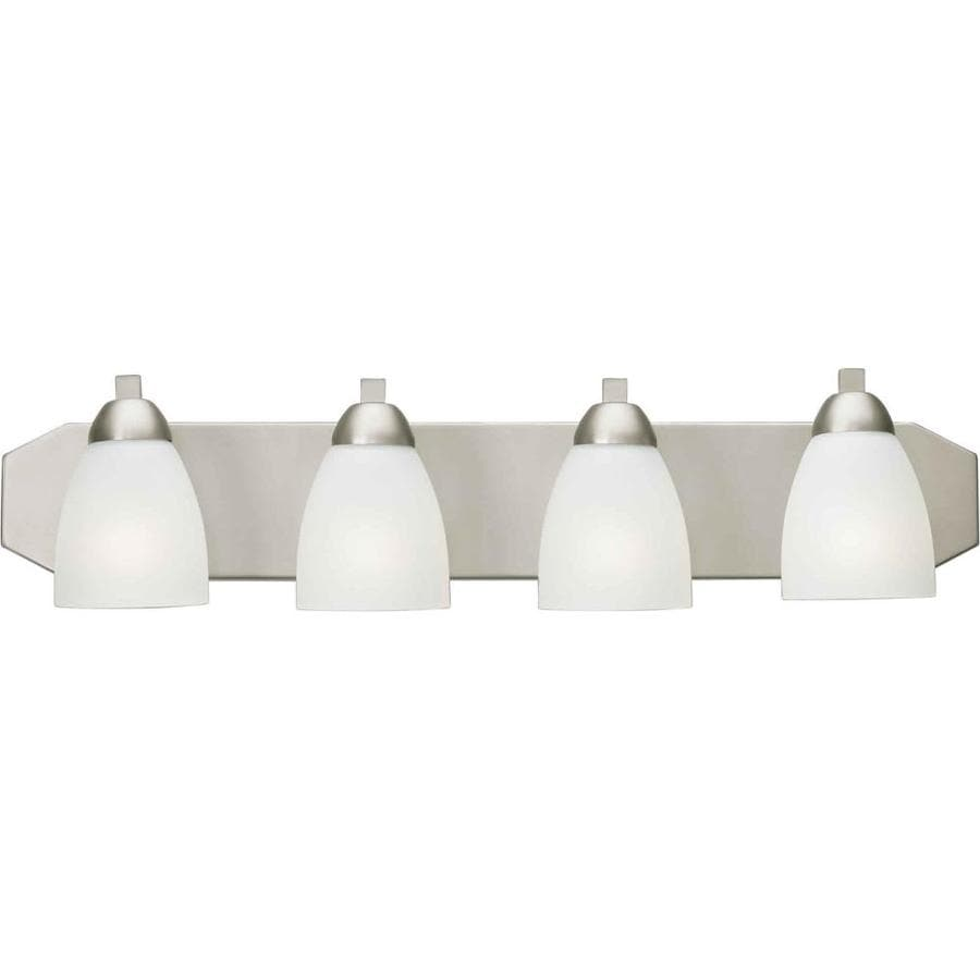 Shandy 4-Light 6-in Brushed Nickel Vanity Light