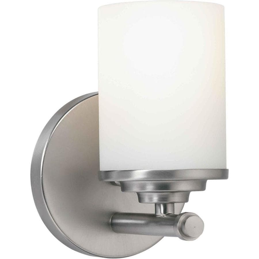 Shandy 1-Light 7-in Brushed Nickel Vanity Light