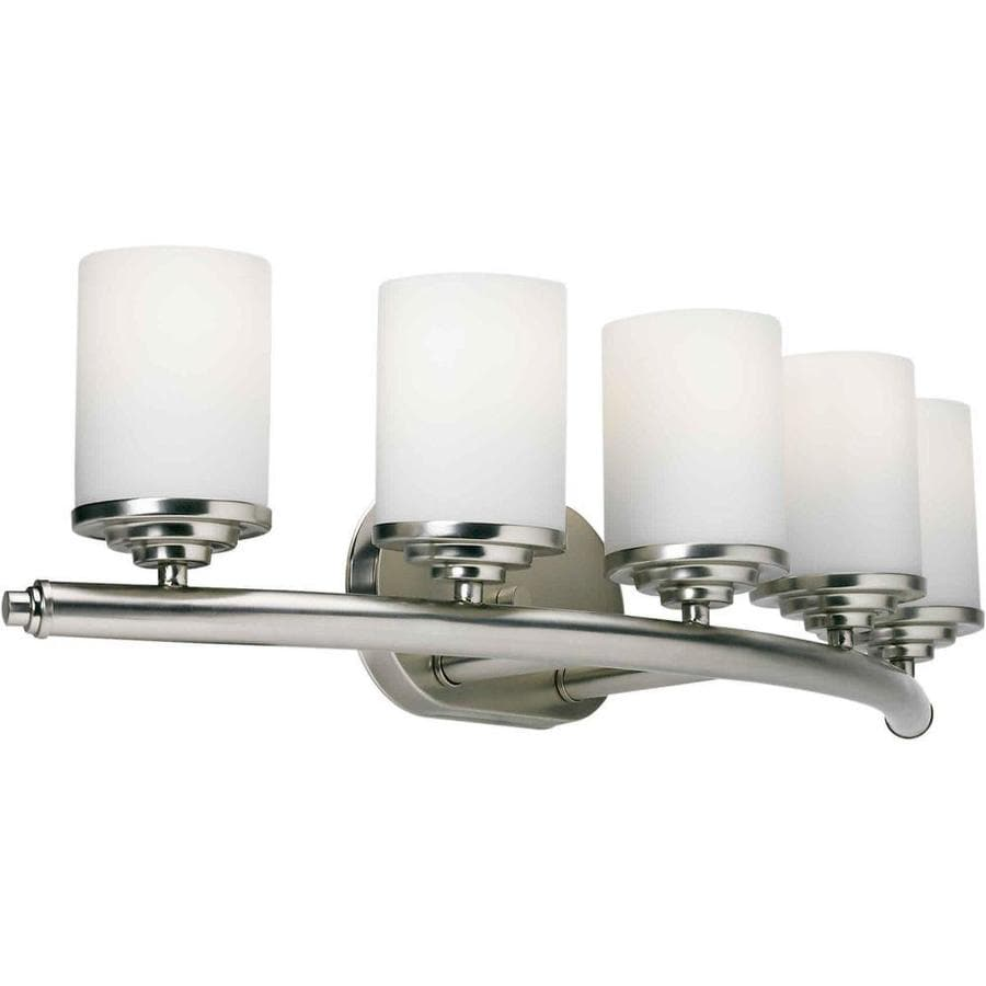 Shandy 5-Light 7-in Brushed Nickel Vanity Light