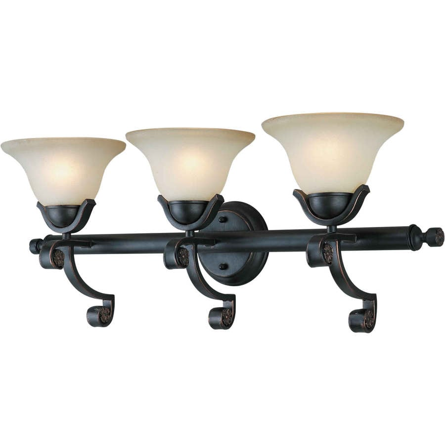Shandy 3-Light 11-in Bordeaux Vanity Light