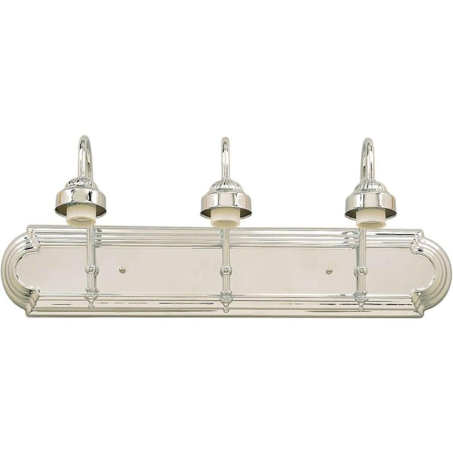 Shandy 3-Light 9-in Chrome Vanity Light