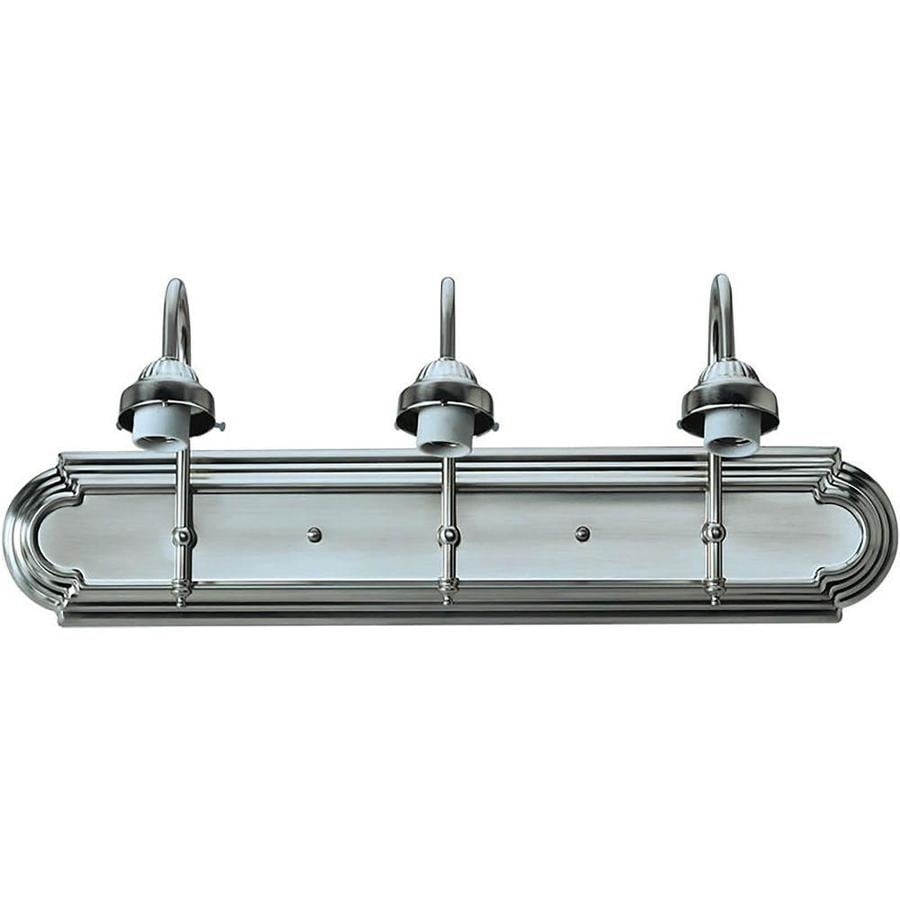 Shandy 3-Light 9-in Brushed Nickel Vanity Light
