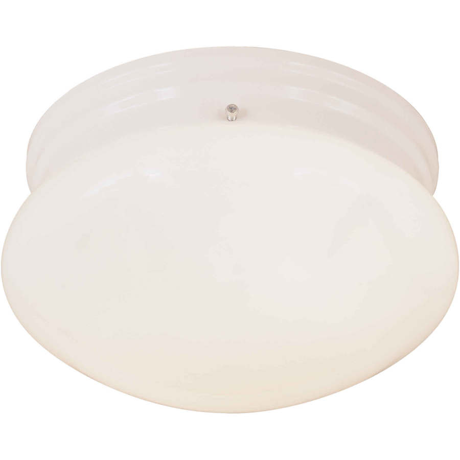 Riverwell 7.5-in W White Standard Flush Mount Light
