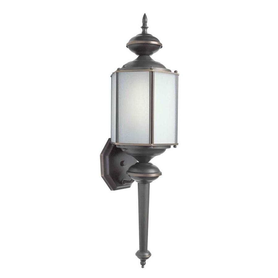 25-in H Royal Bronze Outdoor Wall Light