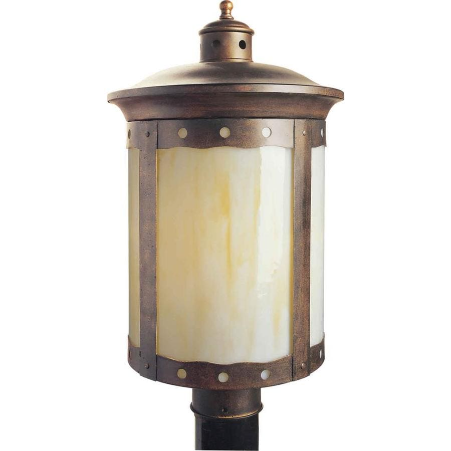 Shop 19 In H Rustic Sienna Post Light At