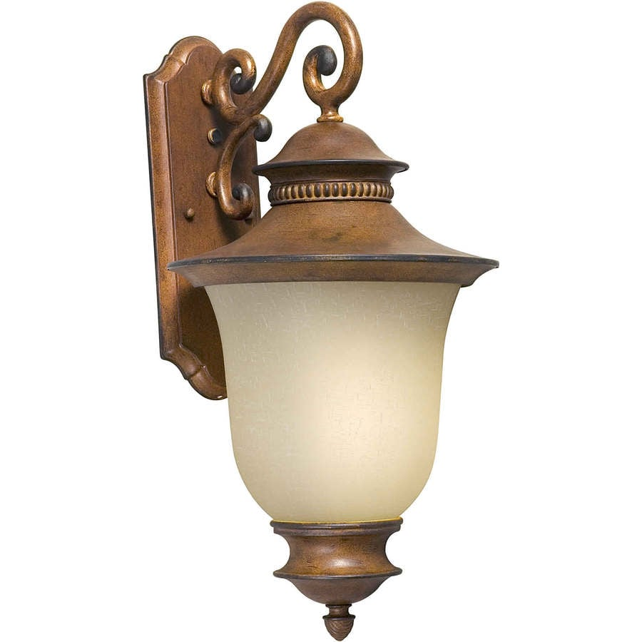Shop 23 In H Rustic Sienna Outdoor Wall Light At