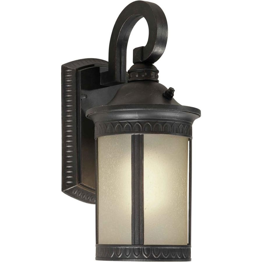 14-in H Bordeaux Outdoor Wall Light