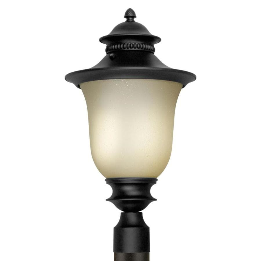 21-in H G24q-2 Pin Base Black Outdoor Wall Light