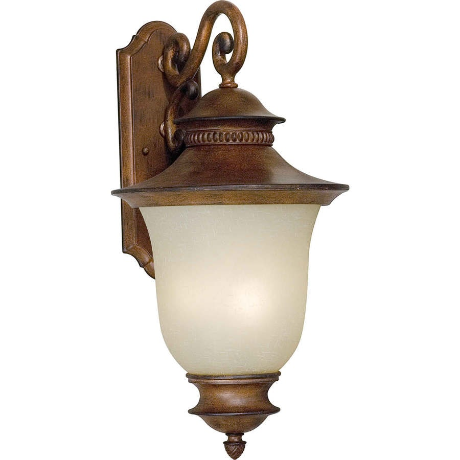 23-in H Rustic Sienna Outdoor Wall Light