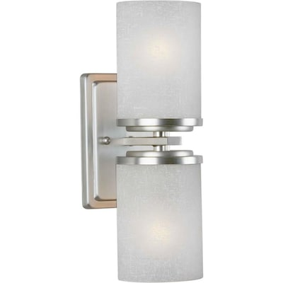 Mto 4 5 In W 2 Light Brushed Nickel Transitional Wall