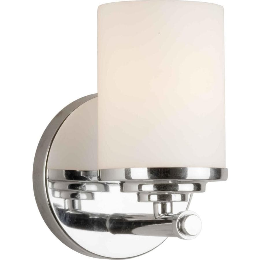 1-Light 7-in Chrome Vanity Light