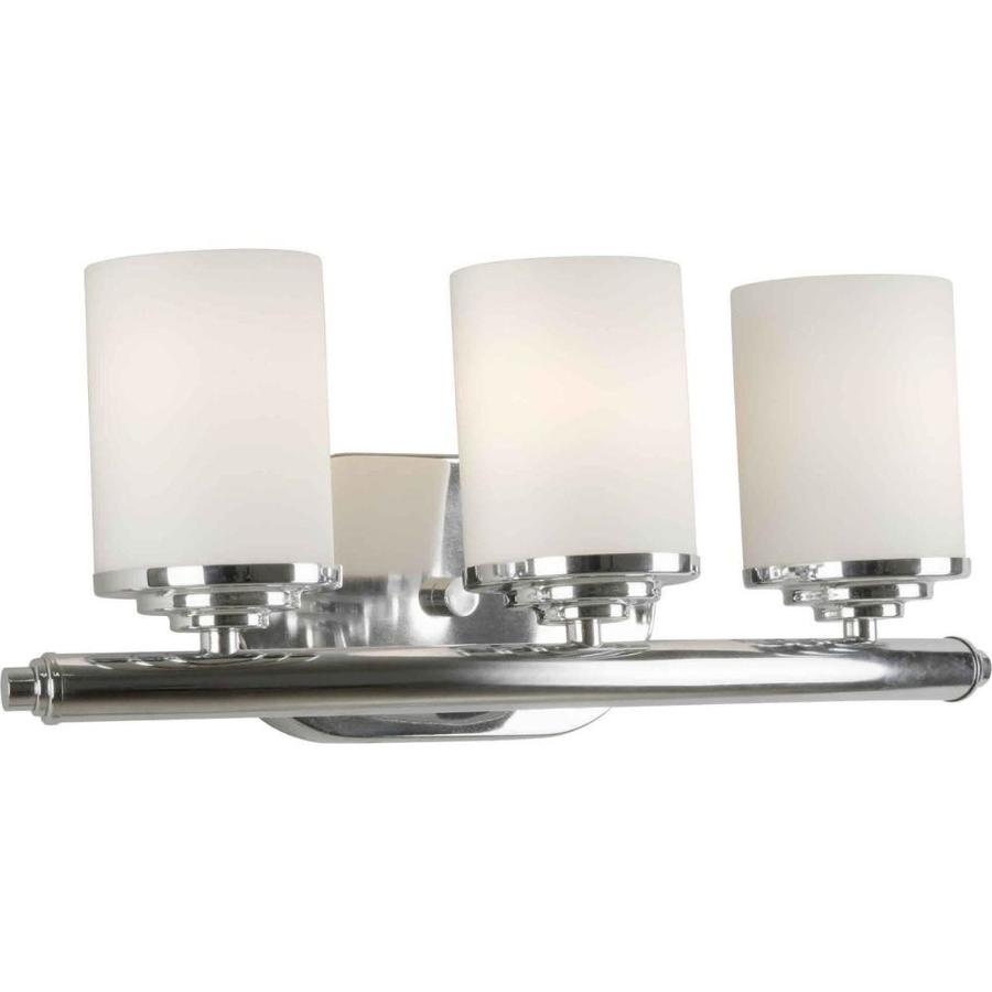 Shop Shandy 3-Light 7-in Chrome Vanity Light at Lowes.com