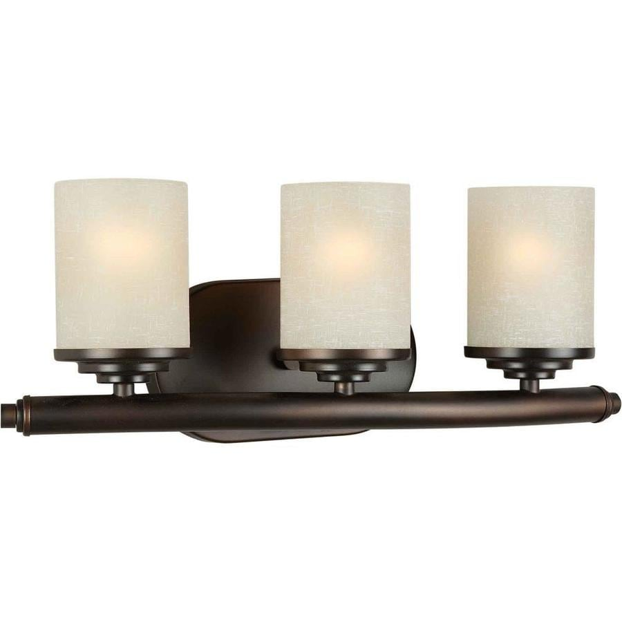 Shandy 3-Light 7-in Antique Bronze Vanity Light