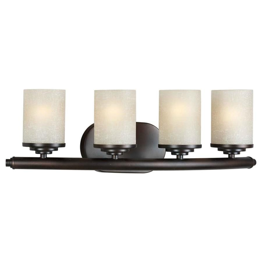 Shandy 4-Light 7-in Antique Bronze Vanity Light
