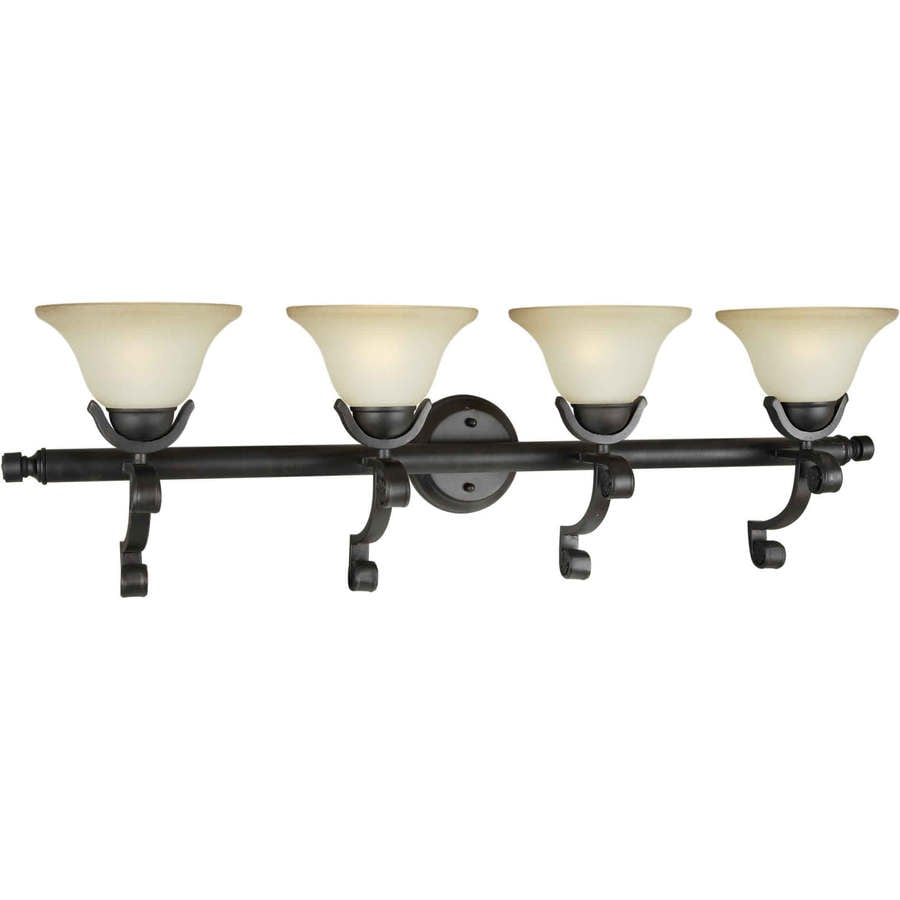 Shandy 4-Light 11-in Bordeaux Vanity Light