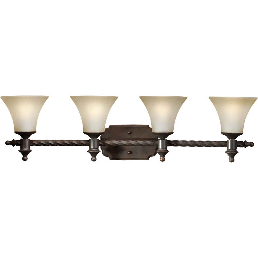 Shandy 4-Light 10-in Antique Bronze Vanity Light