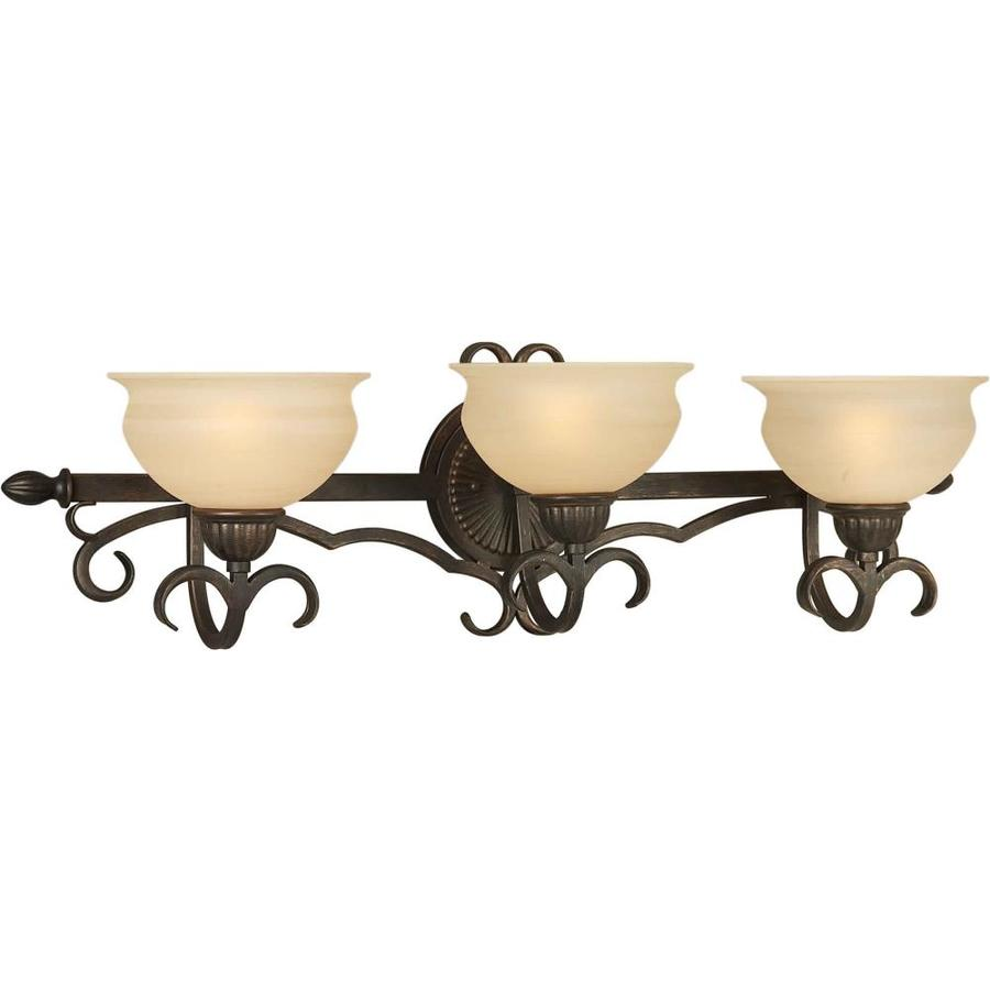 Shandy 3-Light 9-in Bordeaux Vanity Light