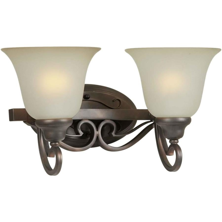 Vanity Light No Stud : Shop Shandy 2-Light 9-in Antique Bronze Vanity Light at Lowes.com