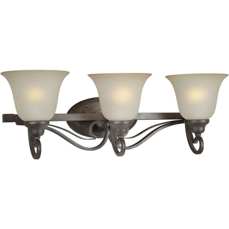 Shop Shandy 3 Light 26 In Antique Bronze Vanity Light At