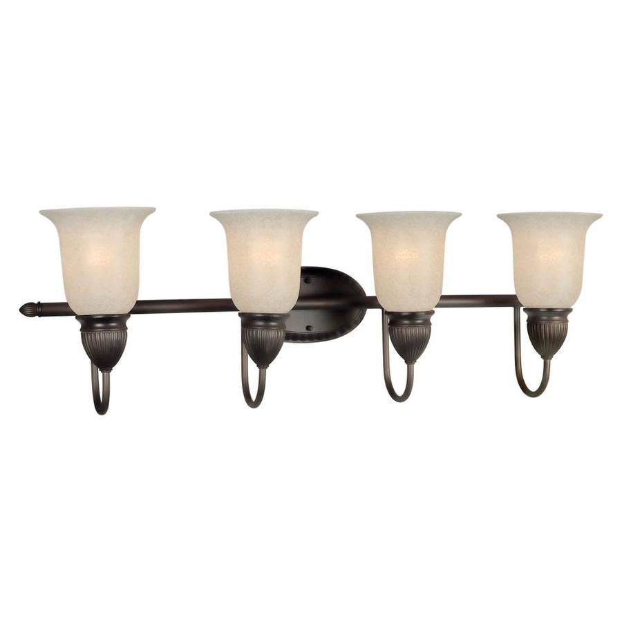 Shandy 4-Light 11-in Antique Bronze Vanity Light