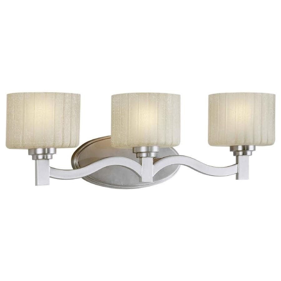 Vanity Lights Not Hardwired : Shop Shandy 3-Light 7-in Brushed Nickel Vanity Light at Lowes.com