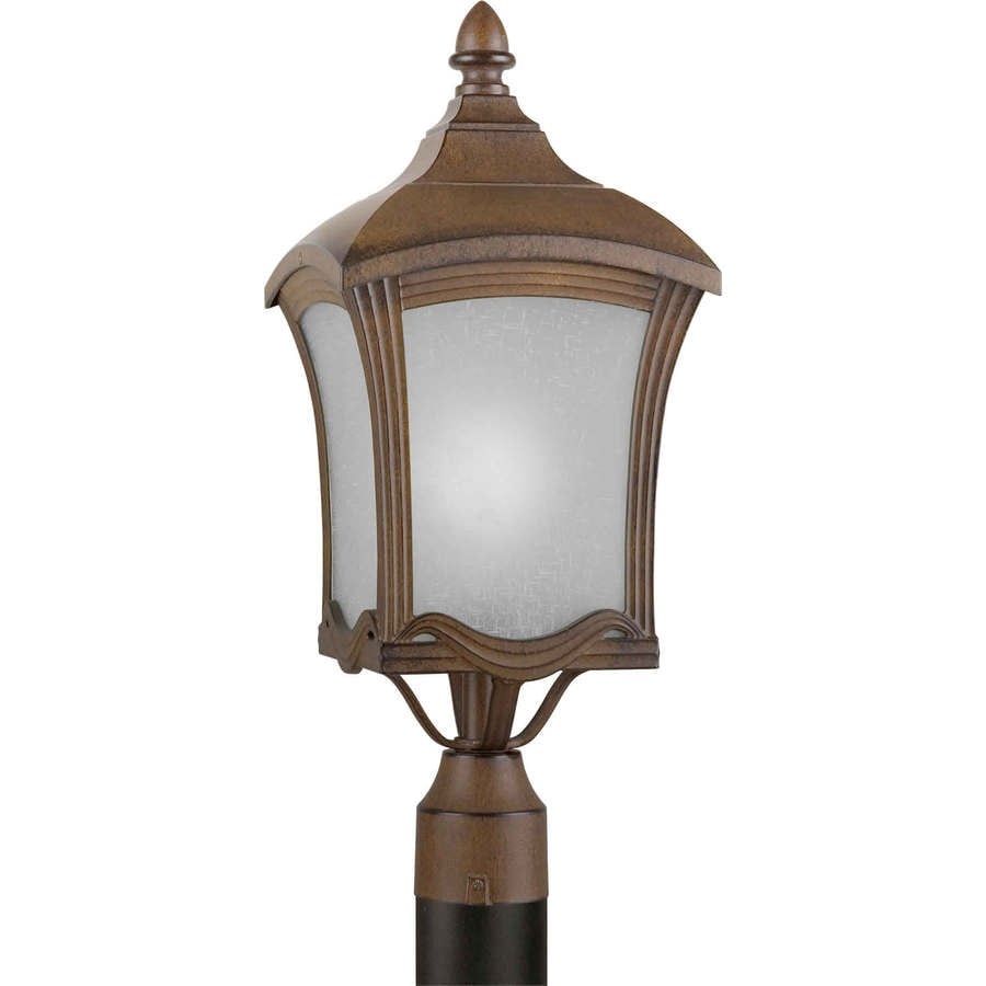 Shop 21 In H Rustic Sienna Post Light At