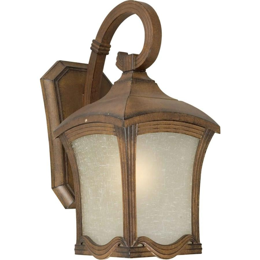 19-in H Rustic Sienna Outdoor Wall Light