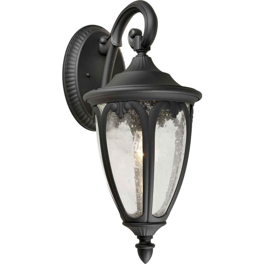 Black Outdoor Wall Lamps : Shop 22-in H Black Outdoor Wall Light at Lowes.com