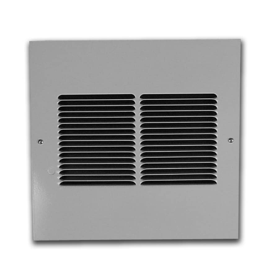King Gray Steel Louvered Sidewall/Ceiling Grille (Rough Opening: 13-in x 13.5-in; Actual: 13-in x 13.5-in)
