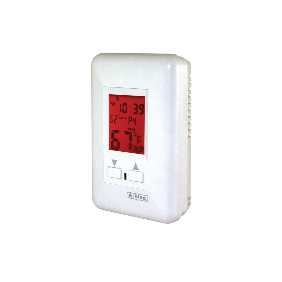 King 7-Day Programmable Thermostat