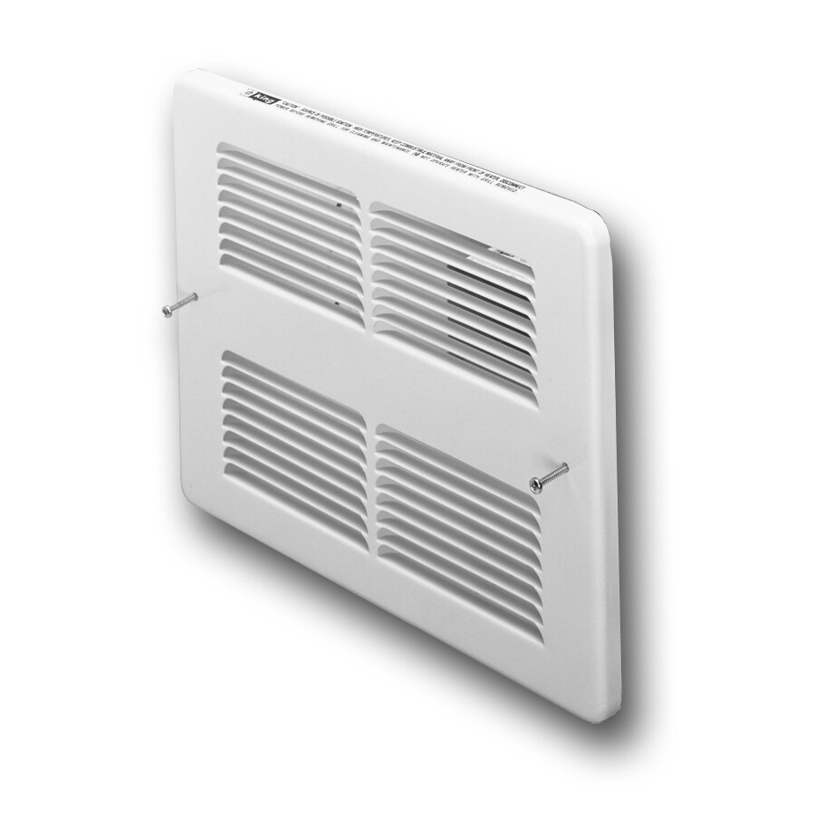King White Steel Louvered Sidewall/Ceiling Grille (Rough Opening: 10-in x 13.5-in; Actual: 10-in x 13.5-in)