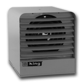 king 25605btu heater fan electric space heater with thermostat - Electric Shop Heater